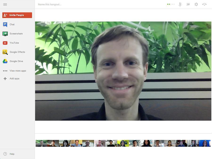 Google Hangout, el programa de videoconferencia de Google