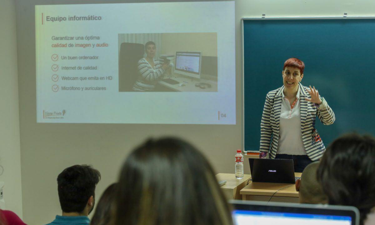 Charla Universidad de Extremadura