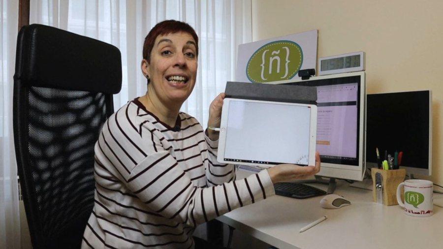 iPad como pizarra digital para las clases online