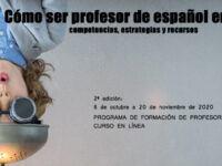 Nuevo curso universitario sobre 'Cómo ser profesor de español en línea'